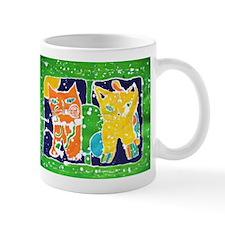 Batik Cats Mug