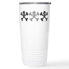 3Skulls&Crossbones Travel Mug