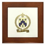 BARIOT Family Crest Framed Tile