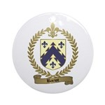 BARIOT Family Crest Ornament (Round)