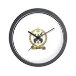 BARIOT Family Crest Wall Clock