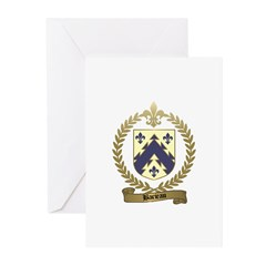 BARIEAU Family Crest Greeting Cards (Pk of 10)