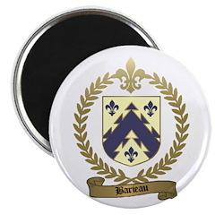 BARIEAU Family Crest Magnet