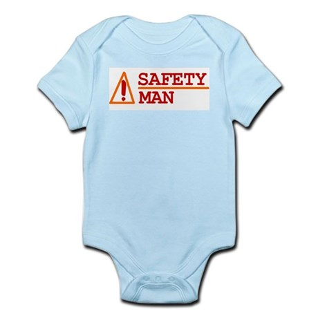 Safety Man Infant Creeper