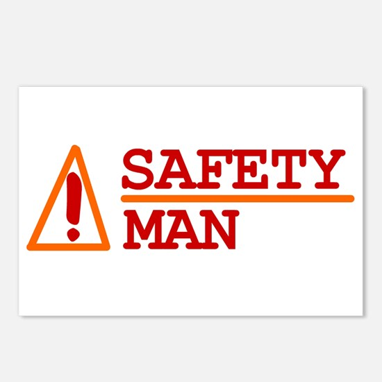 Safety Man Postcards (Package of 8)