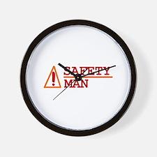 Safety Man Wall Clock