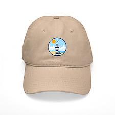 Hilton Head Island SC - Beach Design Baseball Baseball Cap