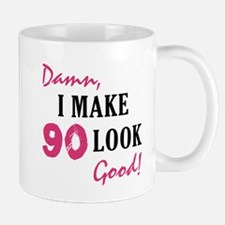 Hot 90th Birthday Mug