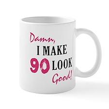 Hot 90th Birthday Mug