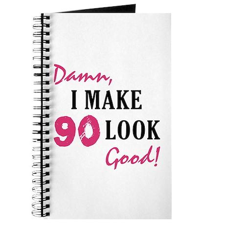 Hot 90th Birthday Journal