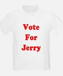 Vote for Jerry Kids T-Shirt