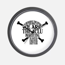 WE RESERVE THE RIGHT TO TELL  Wall Clock
