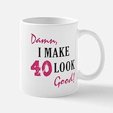 Hot 40th Birthday Mug