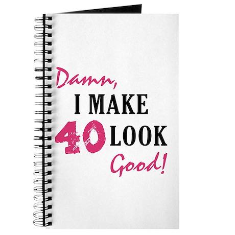 Hot 40th Birthday Journal