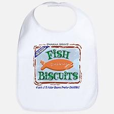 'Dharma Fish Biscuits' Bib