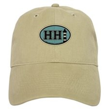 Hilton Head Island SC - Oval Design Baseball Cap