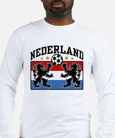 Nederland Soccer Long Sleeve T-Shirt