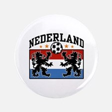 "Nederland Soccer 3.5"" Button"