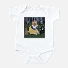 Foxy Wire White Infant Bodysuit