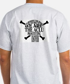 WE RESERVE THE RIGHT TO TELL  Ash Grey T-Shirt