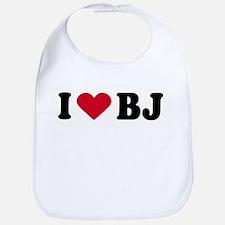 I LOVE BJ ~  Bib