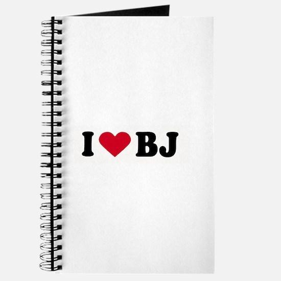 I LOVE BJ ~ Journal