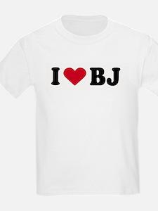 I LOVE BJ ~  Kids T-Shirt