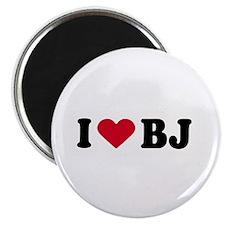 I LOVE BJ ~ Magnet
