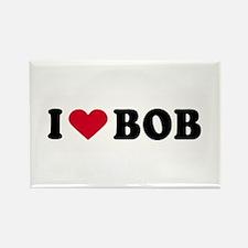 I LOVE BOB ~ Rectangle Magnet