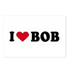 I LOVE BOB ~  Postcards (Package of 8)