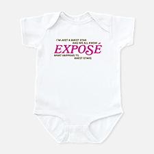 Gues Star Exposé Infant Bodysuit