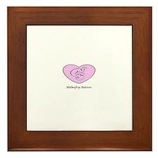 midwife Framed Tile