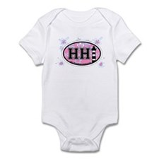 Hilton Head Island SC - Oval Design Infant Bodysui
