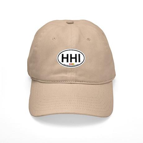 Hilton Head Island SC - Oval Design Cap