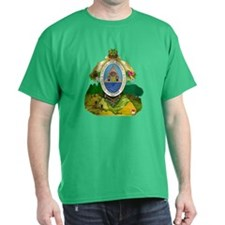 Honduras Coat of Arms (Front) T-Shirt