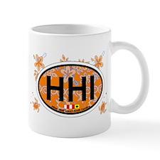 Hilton Head Island SC - Oval Design Mug