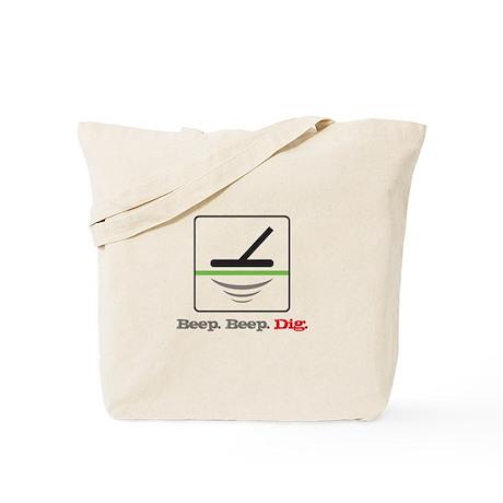 Metal Detecting Beep Beep Dig Tote Bag