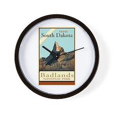 Travel South Dakota Wall Clock