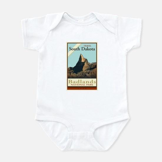 Travel South Dakota Infant Bodysuit