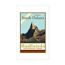 Travel South Dakota Rectangle Bumper Stickers