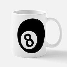 Eight ball Small Small Mug