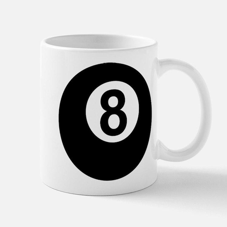 8 Ball Small Small Mug