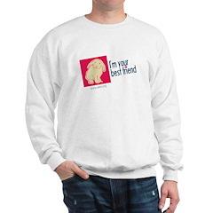 I'm Your Best Friend (Bunny) Sweatshirt