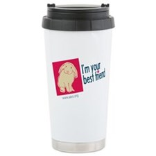 I'm Your Best Friend (Bunny) Travel Mug