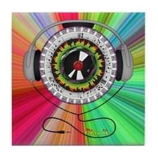 Music of Life Tile Coaster