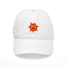 Angry Sun Baseball Cap