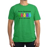 Autism Ok Difference Men's Fitted T-Shirt (dark)