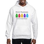 Autism Ok Difference Hooded Sweatshirt