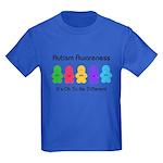 Autism Ok Difference Kids Dark T-Shirt