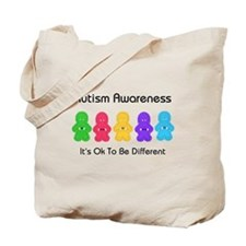 Autism Ok Difference Tote Bag